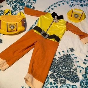 Paw Patrol Rubble Costume Toddler